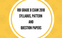 RBI Grade B Syllabus, pattern, question papers
