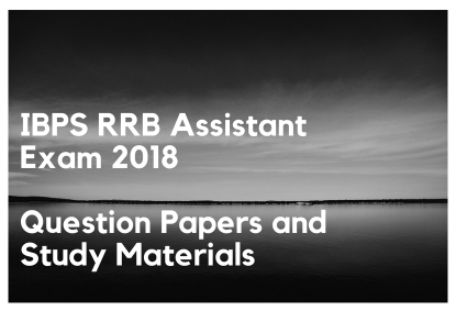 IBPS RRB Assistant Exam 2018 Question paper collection