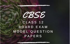 CBSE Plus Two All subject model papers