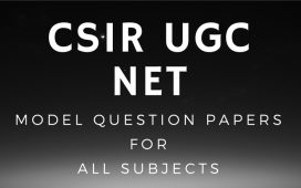 CSIR UGC NET Model question papers