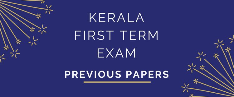 Kerala First Term Onam Exam Previous Question papers