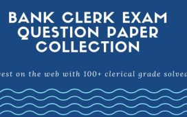 100 solved papers for Bank Clerk Exams