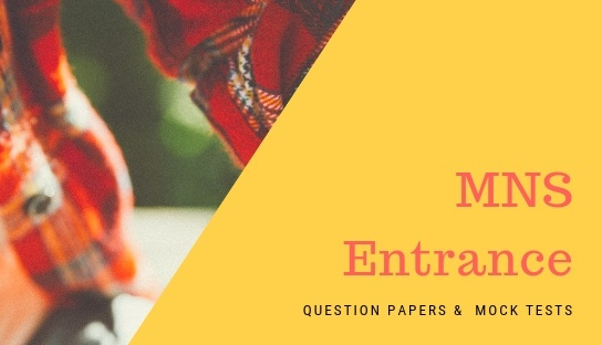MNS Entrance Question papers