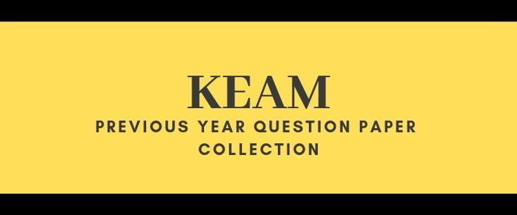 KEAM Question Paper collection
