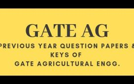 GATE AG Previous papers and keys