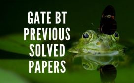 GATE BT Previous solved papers