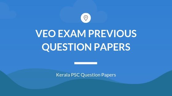 VEO Old Question papers- solved