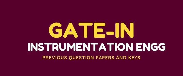 GATE IN Previous question papers and anwer keys