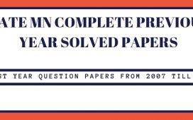 GATE Mining Engineering Old Question papers