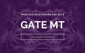 GATE MT Previous Question Papers and Keys