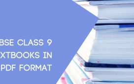 CBSE STD 9 Textbook pdf