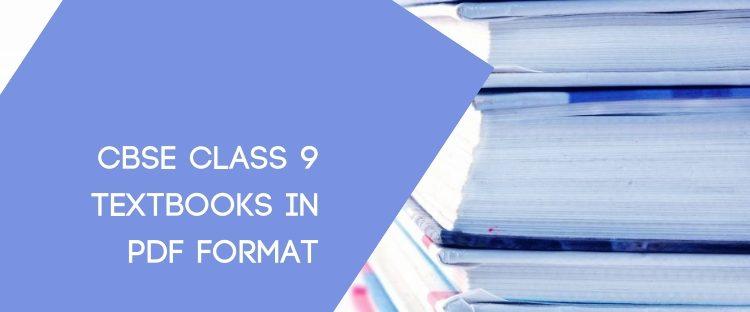 CBSE STD 9 Textbook pdf