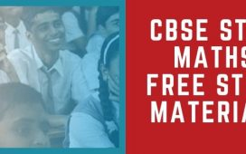 CBSE STD 10 Maths free notes and materials