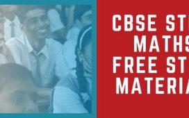 CBSE +1 Mathematics free study materials notes