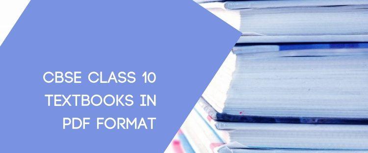 CBSE Xth Textbooks pdf