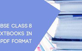 NCERT CBSE STD VIII Textbook pdf