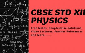 CBSE Plus Two Physics Free Notes and Materials Download