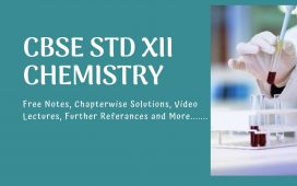 free materials and noes for cbse xii chemistry